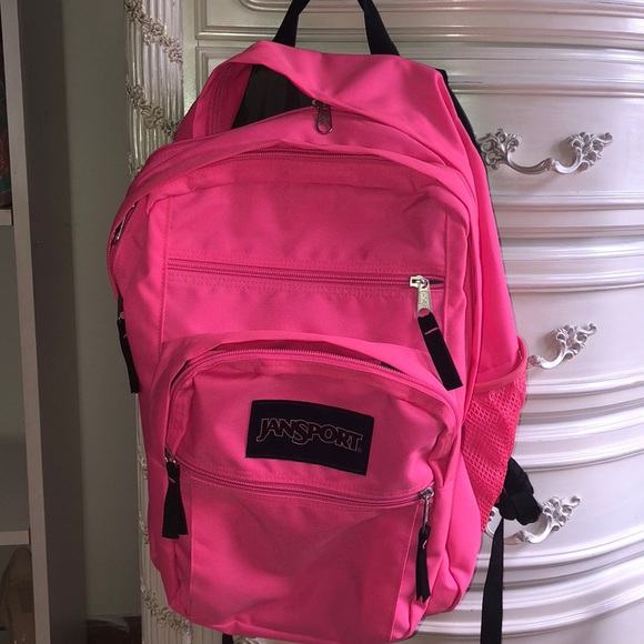 online for sale amazing selection official supplier Pink Jansport backpack